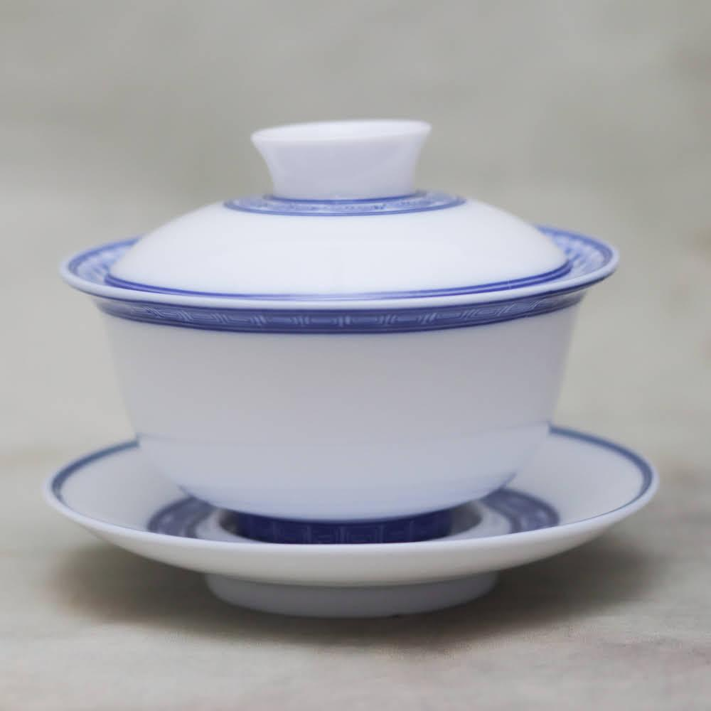 Porcelain Gaiwan #41, 140 ml.