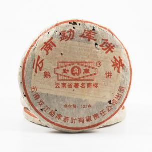 Shu Puerh Mini Bing from Mengku, 2010, 125 g.
