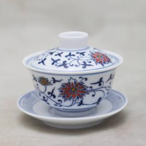 Porcelain Gaiwan #44, 110 ml.