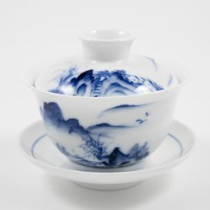 Porcelain Gaiwan #30, 130 ml.