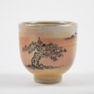 Tea Cup #51, 85 ml., Jingdezhen, 1pcs in stock