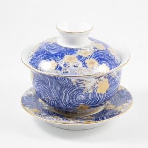 Porcelain gaiwan #15, 160 ml.