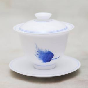 Porcelain Gaiwan #39, 130 ml.